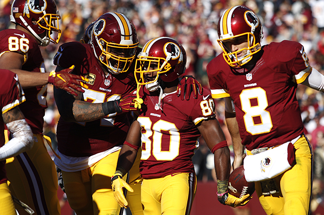 Who's a home win away from first-place in the NFC East? These guys.