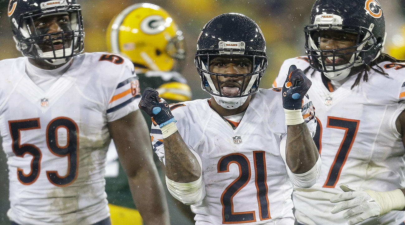 Tracy Porter helped seal the win Thursday, just the Bears' second victory over the Packers in the past 12 meetings.