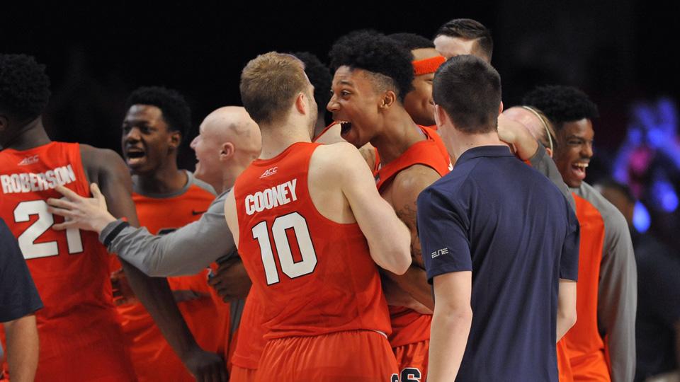 Syracuse makes its season debut in the Top 25 this week at No. 14.