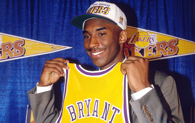 Kobe Bryant retirement Los Angeles Lakers NBA draft