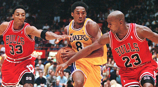 Kobe Bryant retirement Michael Jordan Los Angeles Lakers