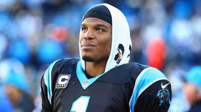 Cam Newton of the Carolina Panthers.