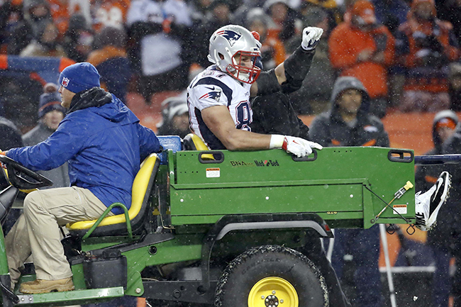 The Patriots might have retained the top spot (even with a loss) if not for this scene.