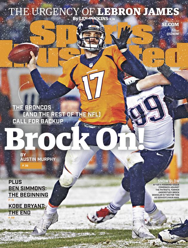 sports illustrated cover denver broncos brock osweiler