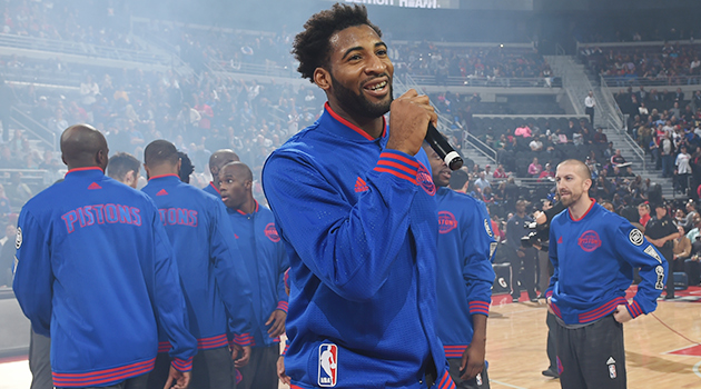 Andre Drummond Detroit Pistons Opening Night Sports Illustrated