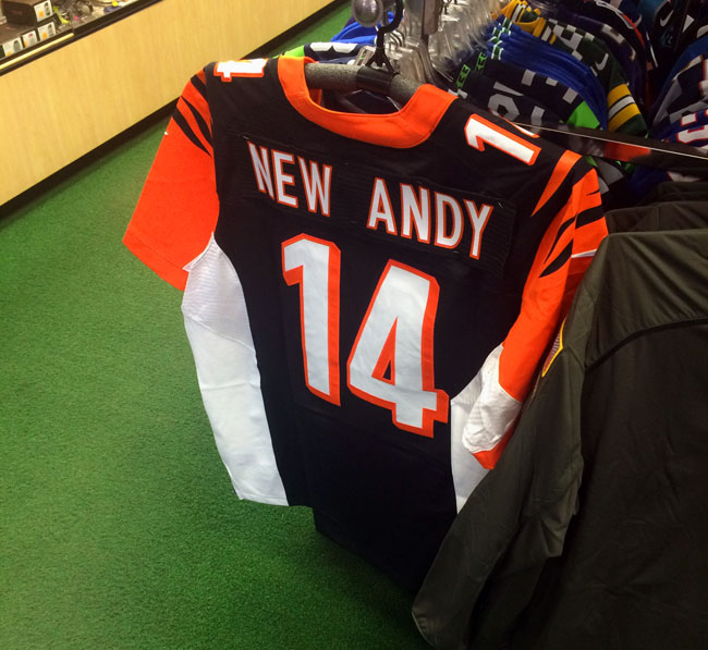 The New Andy jersey in the Kock