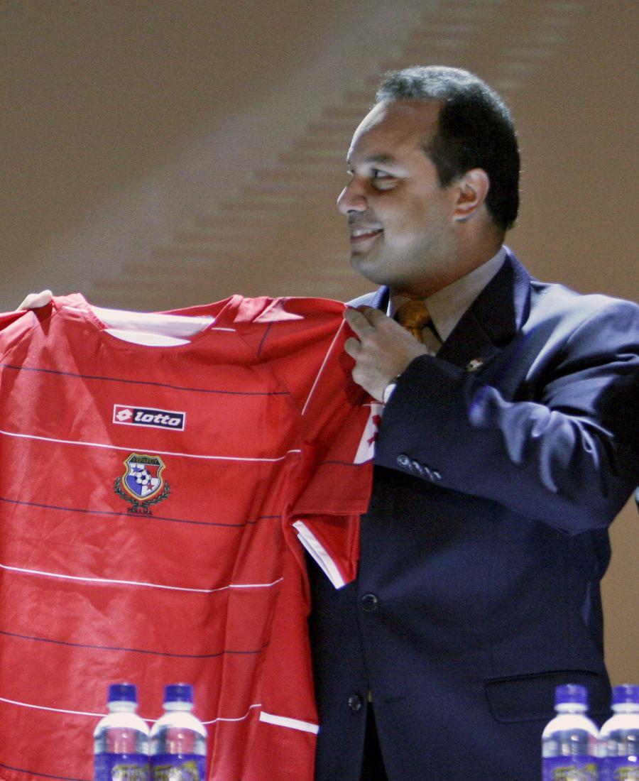 Former president, Panama football federation; FIFA disciplinary committee