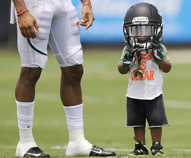 Cecil Shorts IV took the field at Jaguars camp back in 2013.