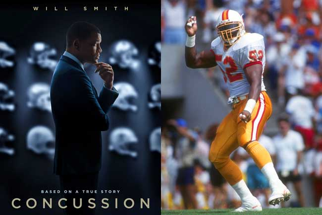 """Keith McCants, the fourth pick of the 1990 NFL draft, screened Will Smith's movie """"Concussion"""" and told The MMQB: """"If we knew that we were killing people, I would have never put on the jersey."""""""