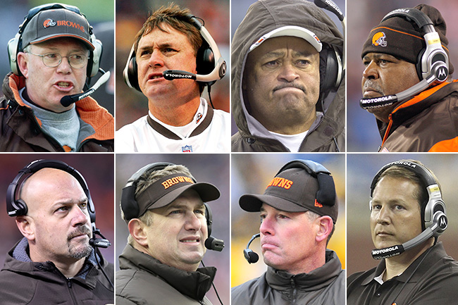 Cleveland Browns head coaches since 1999