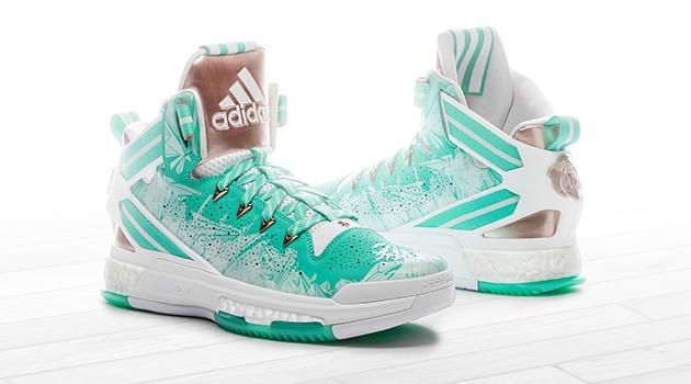 2ce947cf4fdb D Rose 6 Derrick Rose Christmas Day shoes. Courtesy of adidas