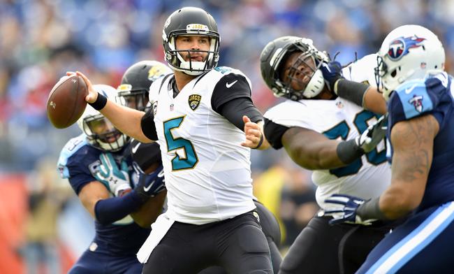 Jacksonville Jaguars quarterback Blake Bortles.