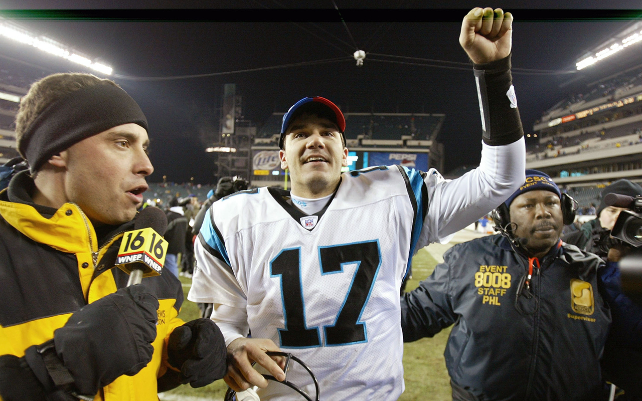 jake-delhomme-panthers-eagles-2004-playoffs