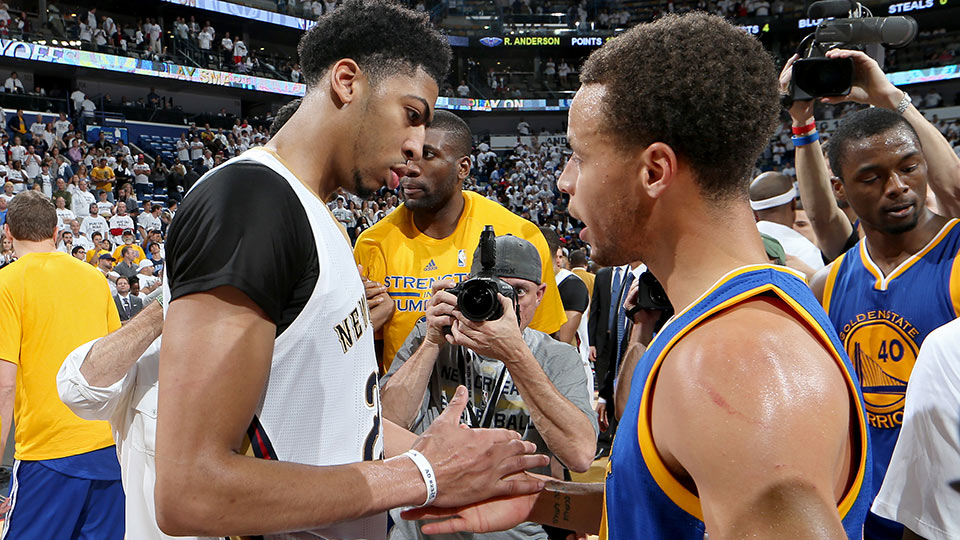 Anthony Davis; Stephen Curry