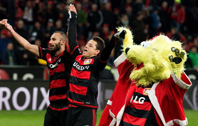 Chicharito, Bayer Leverkusen