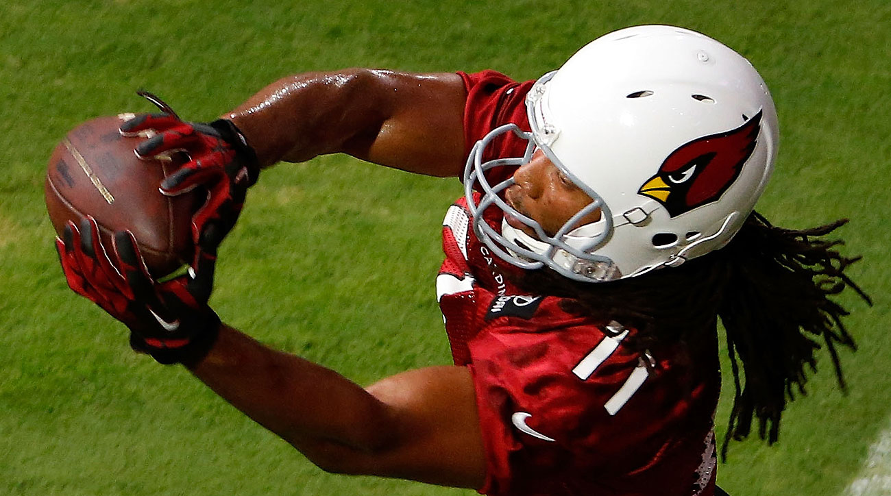 Larry Fitzgerald is currently 10th on the NFL's career receptions list and climbing.