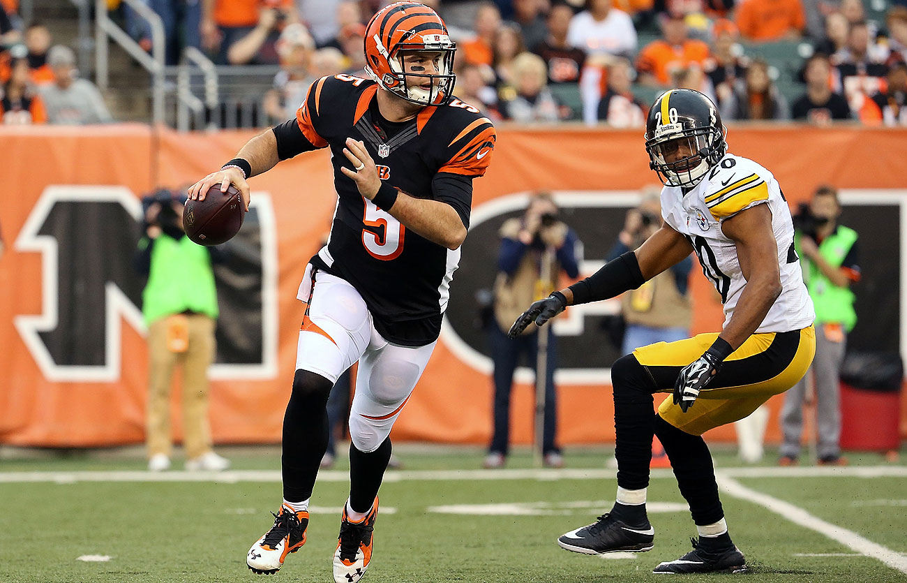AJ McCarron has appeared in four games for the Bengals this season.