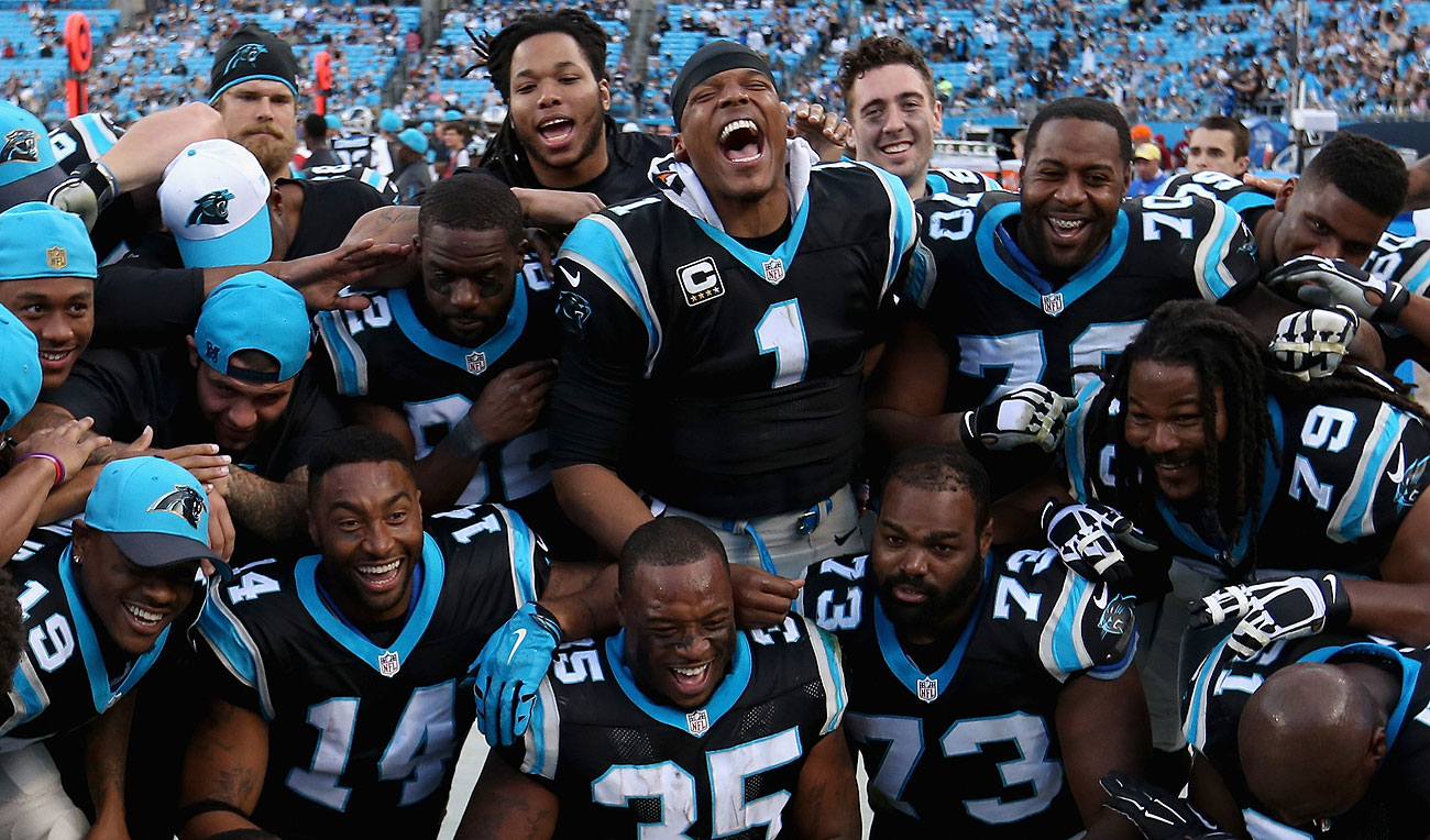 The perfect Panthers have already clinched a bye in the NFC playoffs.