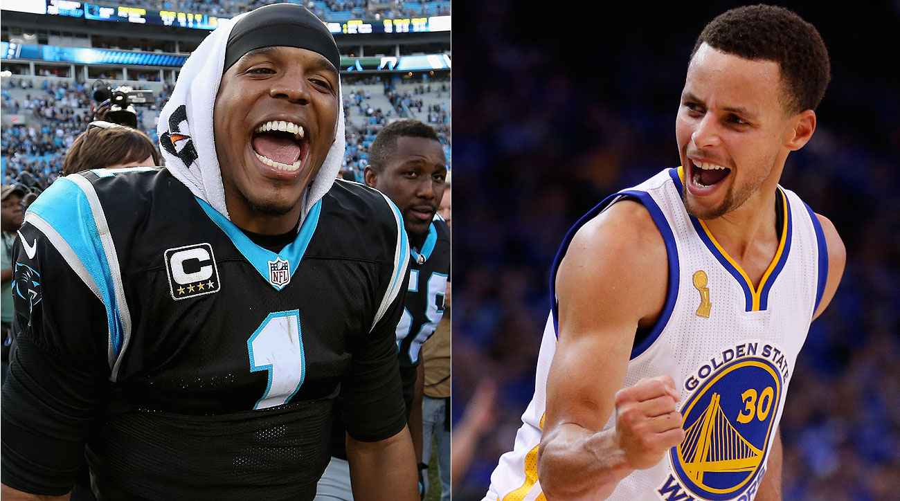 Cam Newton and Steph Curry are leading two of the most fascinating franchises in sports right now.