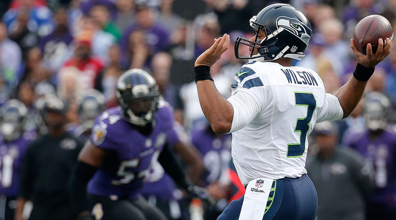 Russell Wilson is the first quarterback since 1960 to have a passer rating of at least 138.5 in four consecutive games.