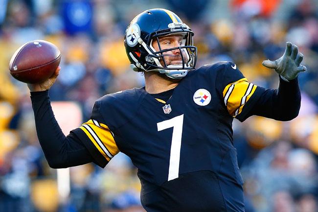 Pittsburgh Steelers quarterback Ben Roethlisberger.