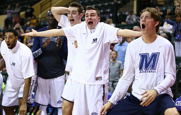 Monmouth bench celebration