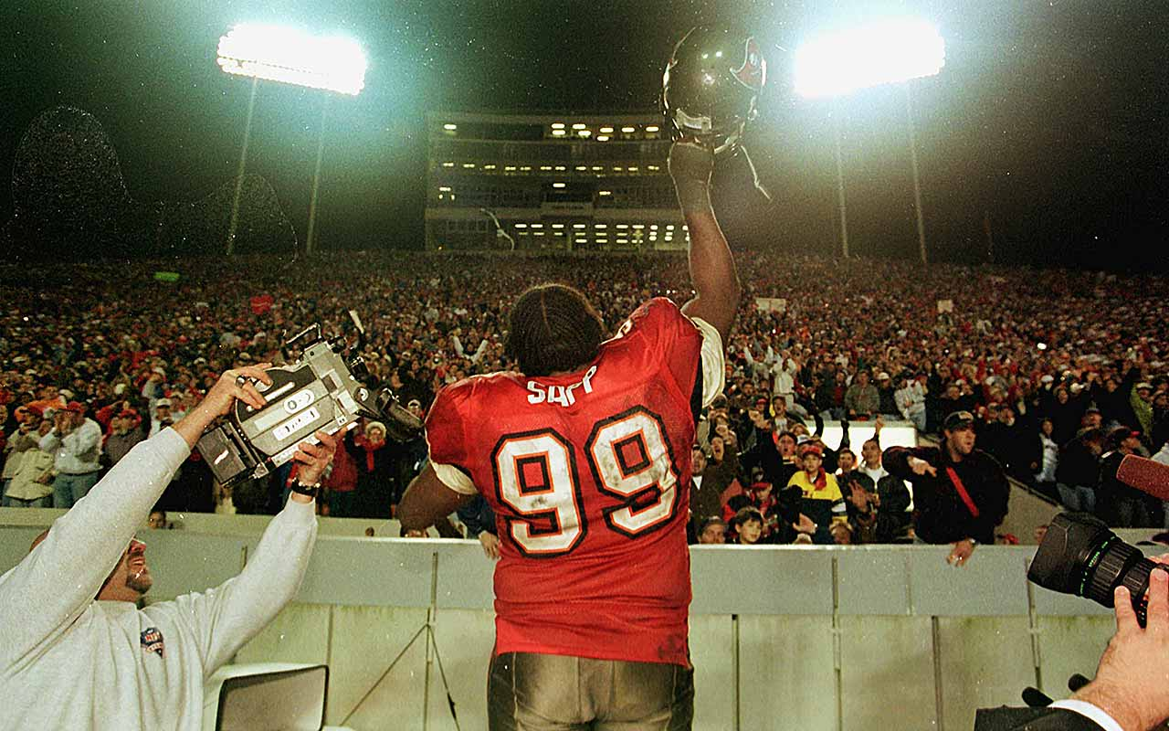 Warren Sapp Buccaneers