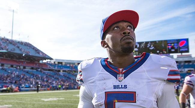 Tyrod Taylor, Bills lose to Patriots