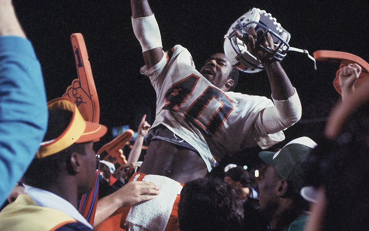 1984 Orange Bowl: Miami v. Nebraska