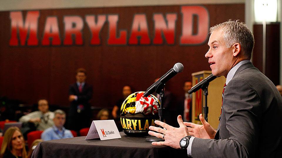 New Maryland head coach D.J. Durkin