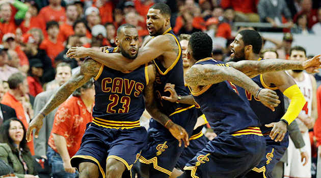 LeBron James game-winner Cleveland Cavaliers Chicago Bulls Game 4