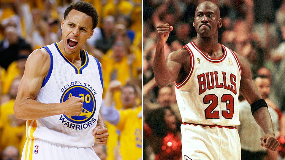Stephen Curry vs. Michael Jordan