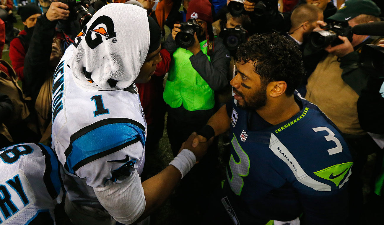 Cam Newton's Panthers and Russell Wilson's Seahawks will meet in the 2016 regular season.