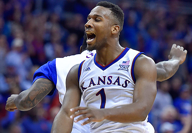 Kansas's Wayne Selden Jr.