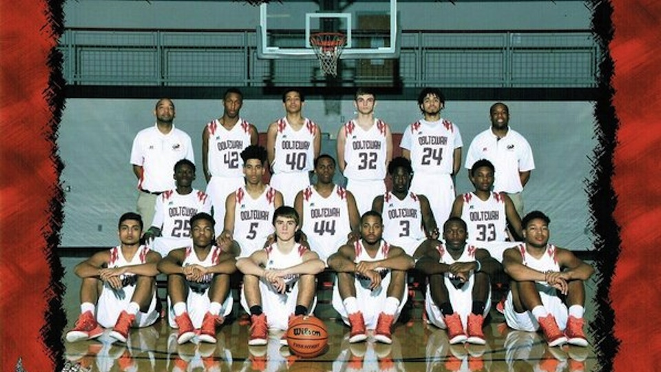 A photo of the 2014–15 Ooltewah High Owls.