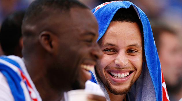 Stephen Curry Draymond Green Golden State Warriors