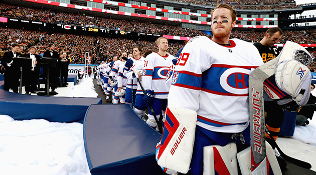 Mike Condon Montreal Canadiens 2016 Winter Classic