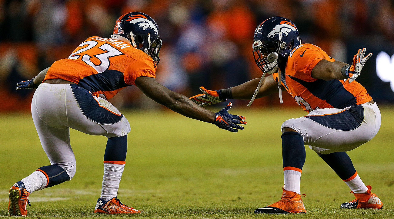 C.J. Anderson and Ronnie Hillman helped the Broncos earn the AFC's top seed.