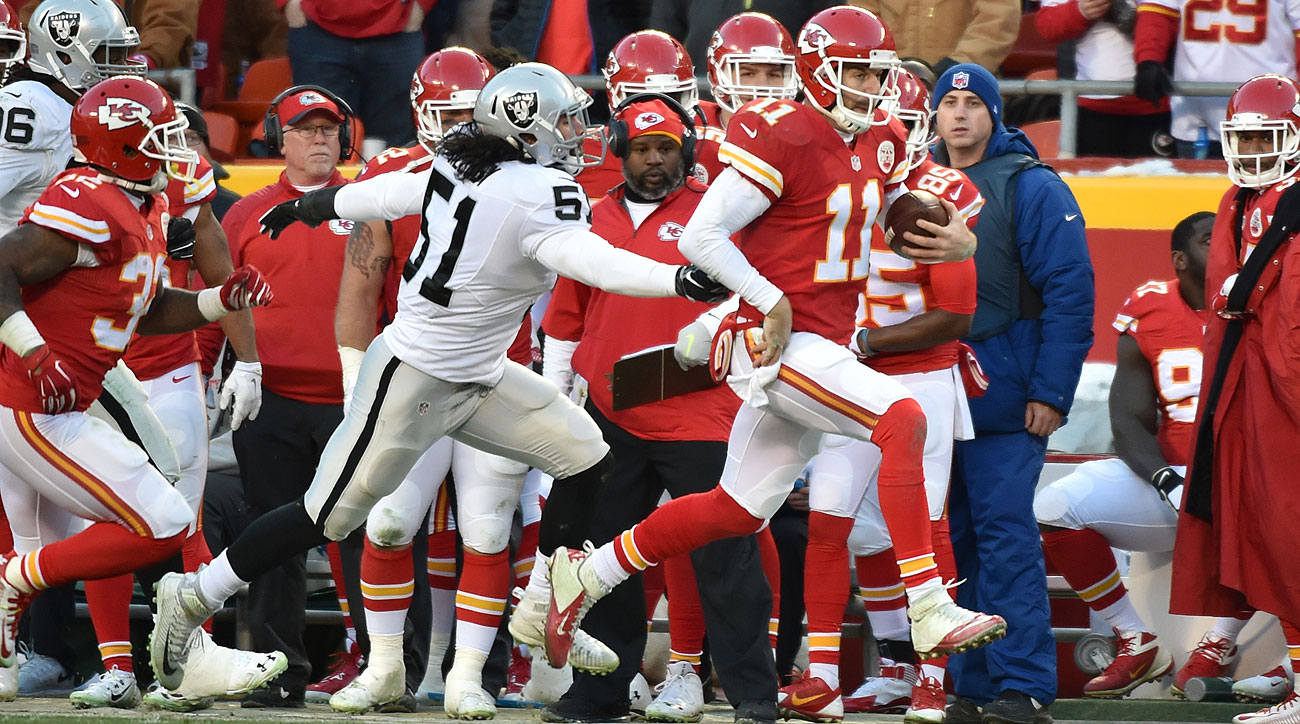 Alex Smith led the Chiefs on a 10-game winning streak to close the season.