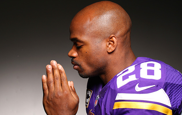 Adrian Peterson opens up