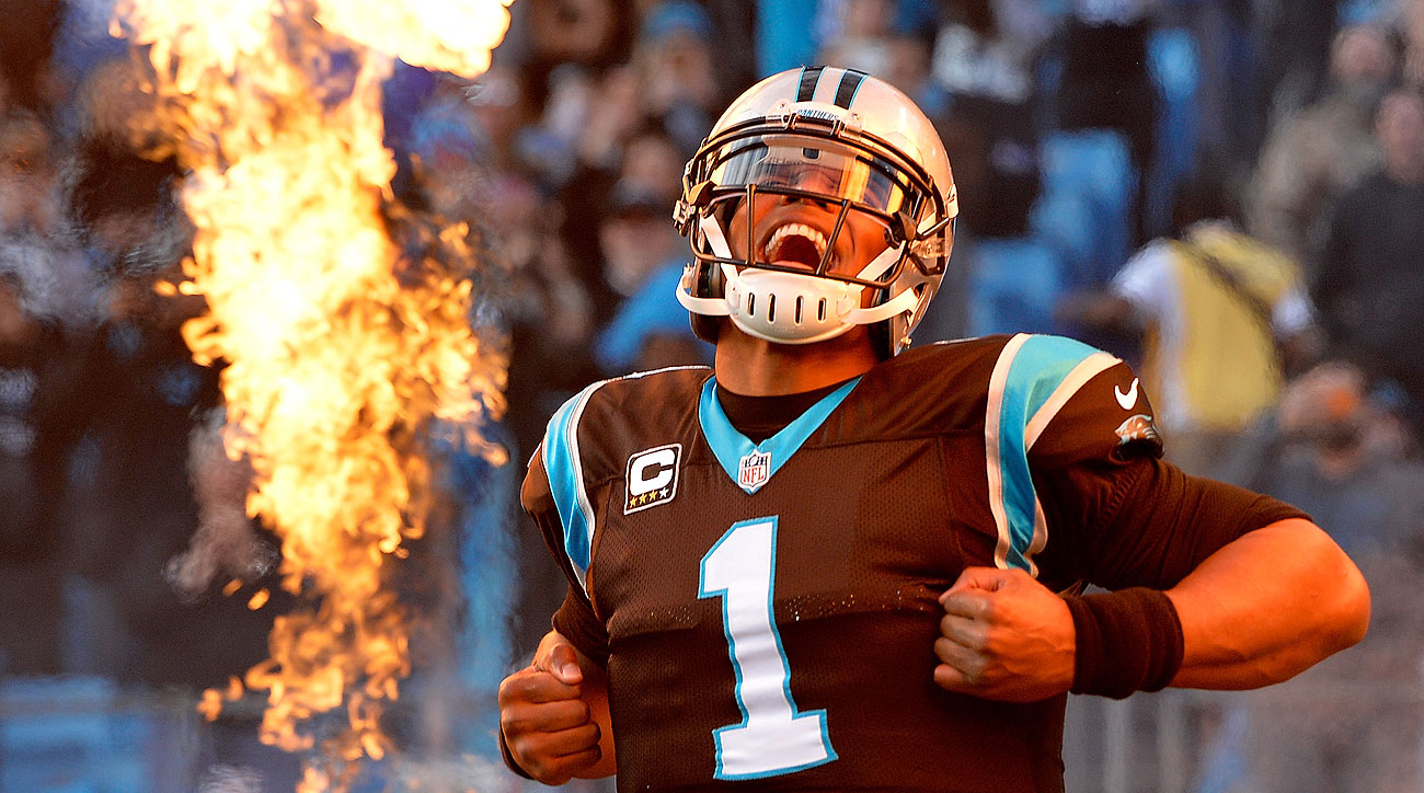 Cam Newton became the first NFL player to have at least 30 passing touchdowns and 10 rushing touchdowns in a season.