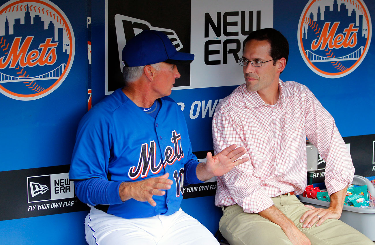 DePodesta was VP of player development and scouting for the Mets for five seasons.