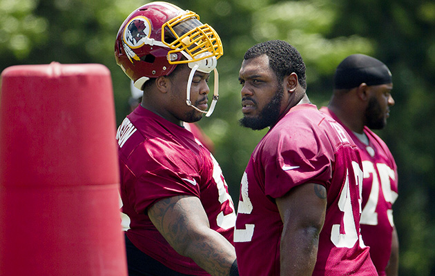 For Chris Baker and Terrance Knighton, playoffs just the latest adventure.