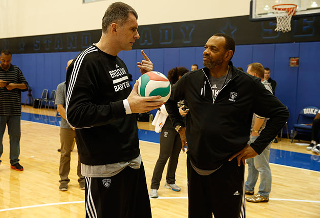 Mikhail Prokhorov; Lionel Hollins