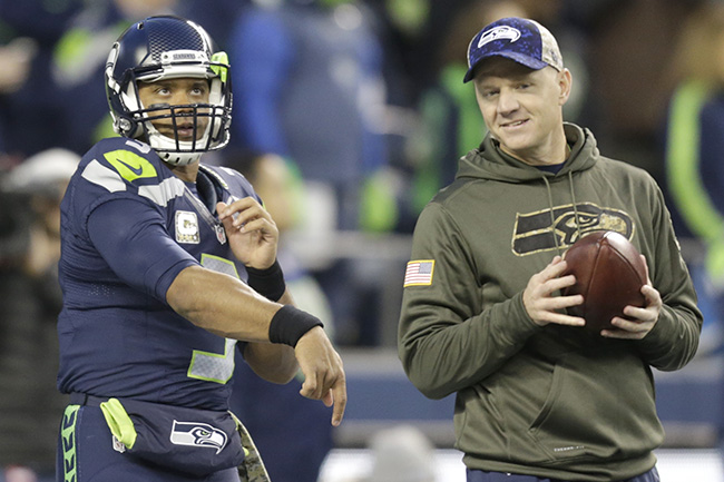 Bevell has reinvented the Seahawks offense and helped make Wilson into a quality pocket passer.