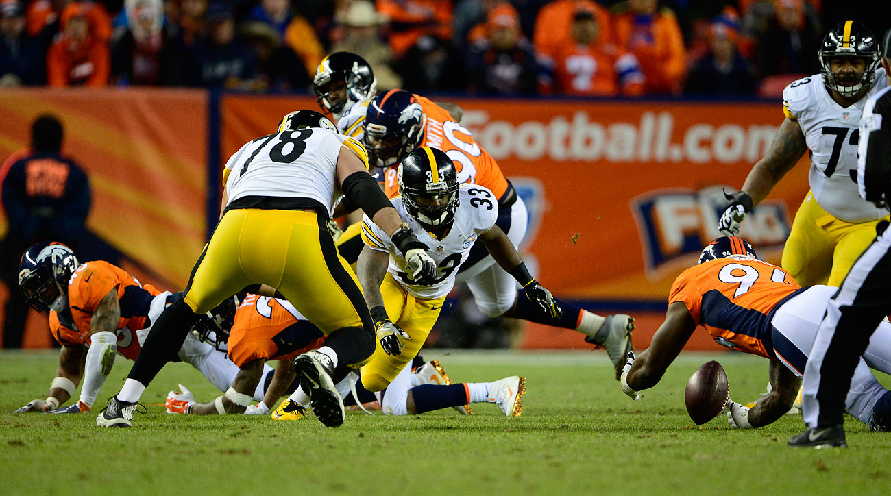 The Steelers-Broncos game swung on Fitzgerald Toussaint's fourth-quarter fumble.