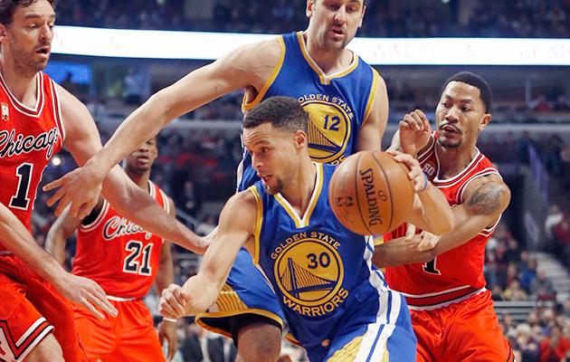 Golden State Warriors Chicago Bulls Stephen Curry