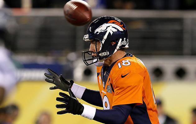 peyton manning super bowl seattle seahawks broncos