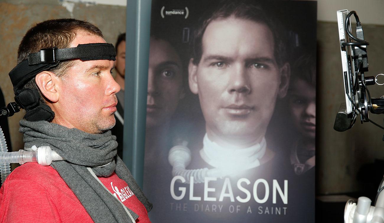 Steve Gleason in attendance at the premiere of 'Gleason' at the 2016 Sundance Film Festival in Park City, Utah.