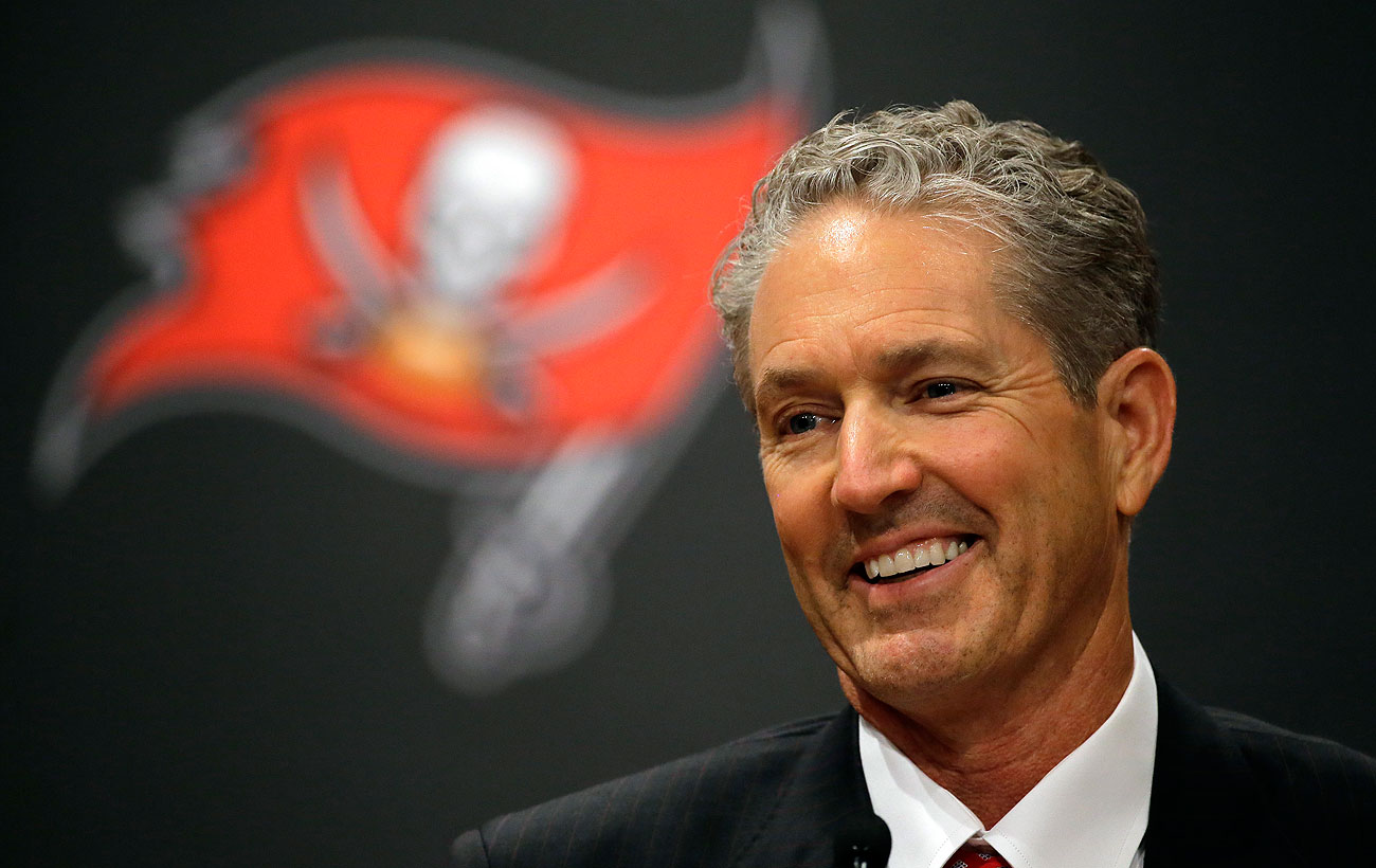Dirk Koetter was an offensive coordinator for three teams, dating back to 2007, before getting his first chance as a head coach.
